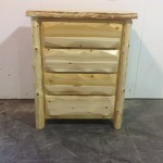 Cedar 4 Drawer Chest