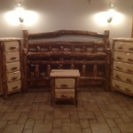 Aspen Bed, 5 Drawer Chest and Nightstand